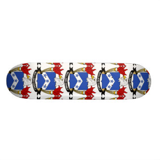 Bullard Family Crest Custom Skateboard