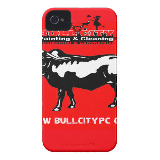 BULLCITY PAINTING AND CLEANING 06 CUSTOMIZABLE PRO iPhone 4 CASE