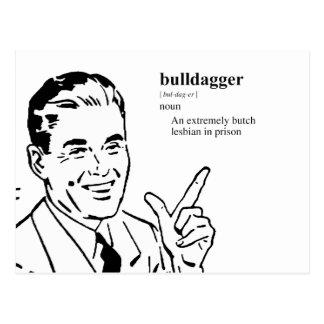 BULLDAGGER POSTCARD