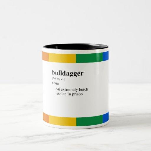 BULLDAGGER Two-Tone COFFEE MUG