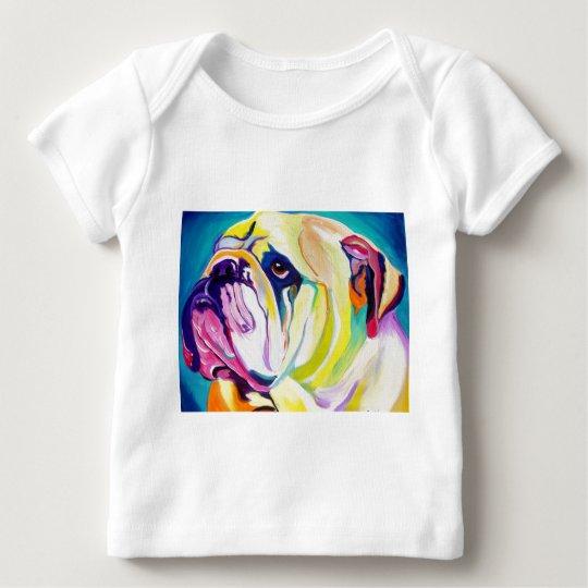 Bulldog #1 baby T-Shirt
