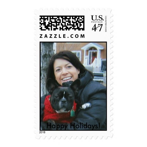 ¡bulldog_2129 francés, buenas fiestas! sellos