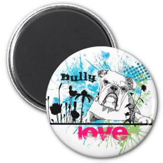 Bulldog 2 Inch Round Magnet