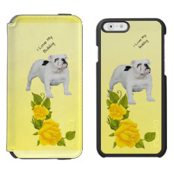 Incipio Watson™ iPhone 6 Wallet Case with Boston Terrier Phone Cases design