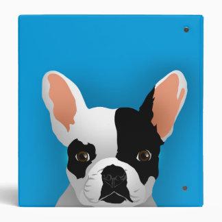Bulldog art - french bulldog binder