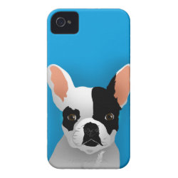Case-Mate iPhone 4 Barely There Universal Case with Bulldog Phone Cases design