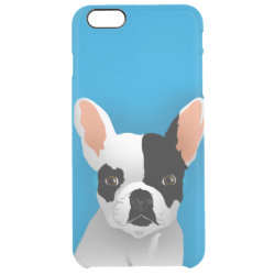 Uncommon iPhone 6 Plus Clearly™ Deflector Case with Bulldog Phone Cases design