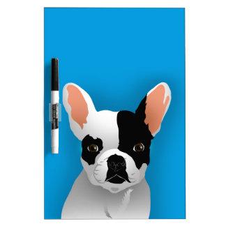 Bulldog art - french bulldog Dry-Erase board