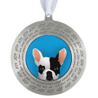 Bulldog art - french bulldog ornament