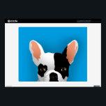 "Bulldog art - french bulldog skin for laptop<br><div class=""desc"">&quot;french bulldog illustration &quot;,   &quot;french bulldog puppies  &quot;,   &quot;french bulldog cartoon  &quot;,  &quot;bulldog cartoon &quot; ,  &quot;bulldog puppies &quot; ,  &quot;love cartoon dog animals &quot; ,  &quot;bulldog puppies pet cute french  &quot;,  &quot;adorable doggy illustration canine  &quot;,  &quot;small dogs &quot; ,  &quot;canine doglovers  &quot;</div>"