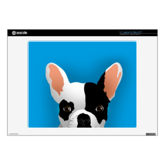 Bulldog art - french bulldog skin for laptop