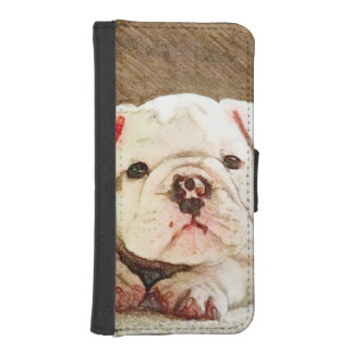 Bulldog Baby iPhone SE/5/5s Wallet