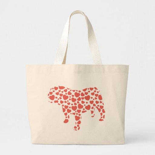 Bulldog Canvas Bag