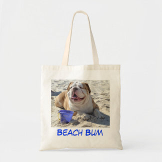 Bulldog Beach Bag