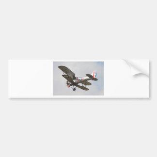 Bulldog Biplane Bumper Sticker