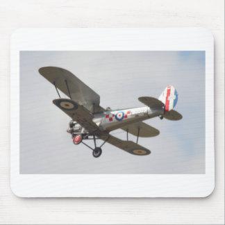 Bulldog Biplane Mouse Mats