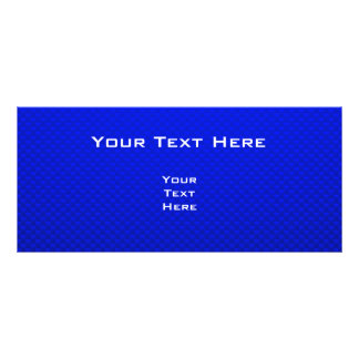 Bulldog; Blue Custom Rack Card