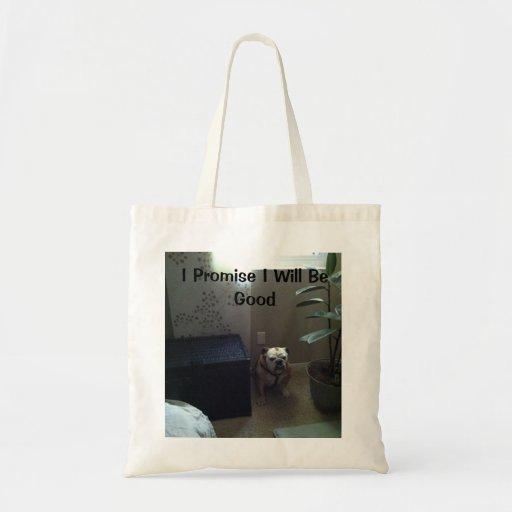 Bulldog Blues Tote Bag
