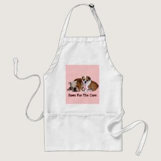 Bulldog Breast Cancer Apron
