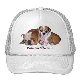 Bulldog Breast Cancer Hat