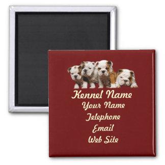 Bulldog Breeder Magnet