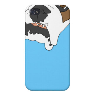 Bulldog Bruno iPhone Case Covers For iPhone 4