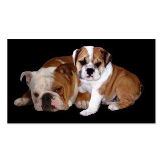 Bulldog Buddies Breeder Business Card