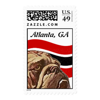 Bulldog Bullie Bull-dog Sweet Expression STAMPS