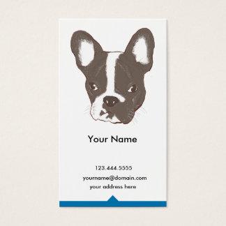 bulldog business card