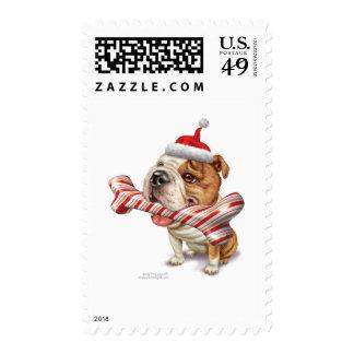 bulldog_card postage stamps