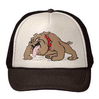 Bulldog Cartoon Art Trucker Hat