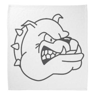 Bulldog cartoon do-rag