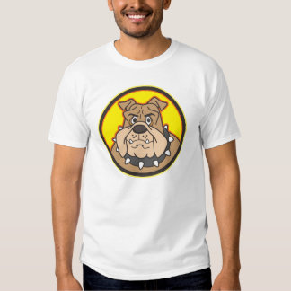 Bulldog Cartoon Logo T-Shirt
