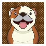 Bulldog Cartoon Paws Photo Art