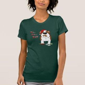 Bulldog Christmas - Ho Ho Ho??? T-shirts