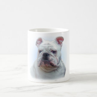 Bulldog close-up coffee mug