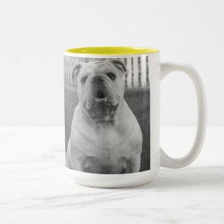 Bulldog Coffee Cup