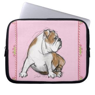 Bulldog Computer Sleeve