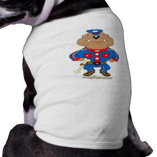 Bulldog Cop Doggie Tee Shirt