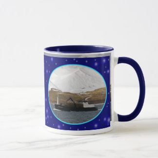 Bulldog, Crab Boat in Dutch Harbor, Alaska Mug