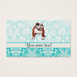 Bulldog; Cute Business Card