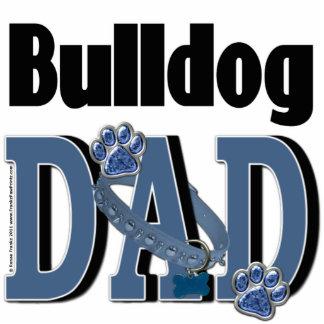 Bulldog DAD Photo Sculpture