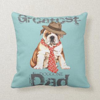 Bulldog Dad Pillow