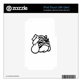 Bulldog Decal For iPod Touch 4G