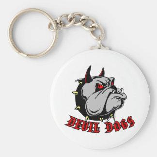 Bulldog Devil Dogs Key Chains