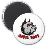 Bulldog Devil Dogs Magnet