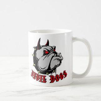 Bulldog Devil Dogs Coffee Mugs