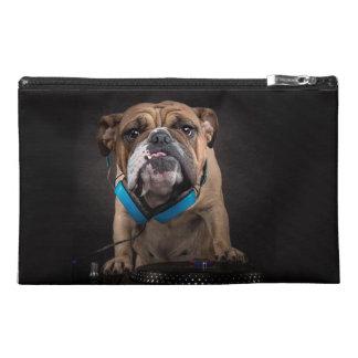 bulldog dj - dj dog travel accessory bag