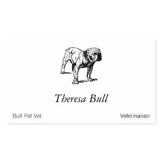 Bulldog Dog Business Business Card Templates