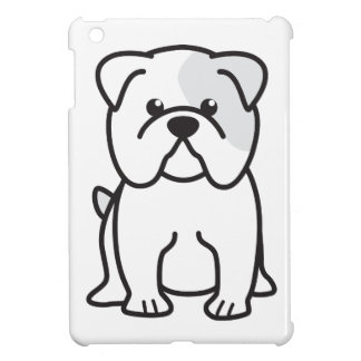 Bulldog Dog Cartoon Case For The iPad Mini